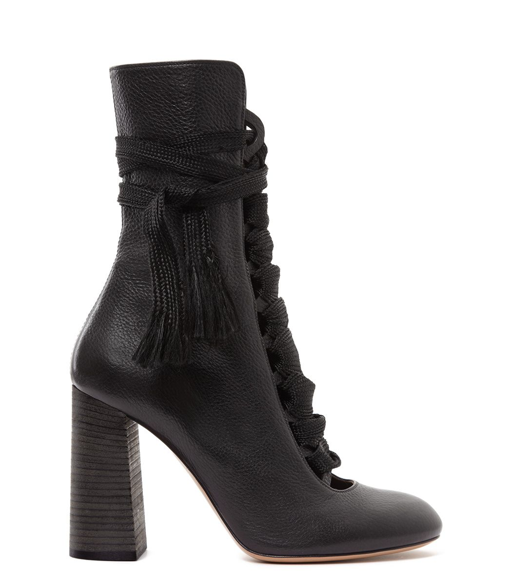 Chloe Lace-Up Ankle Boot