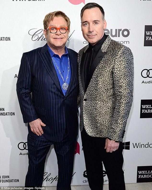 Is Elton S Husband Pushing Out All His Most Trusted Aides Elton John David Furnish Gq Awards