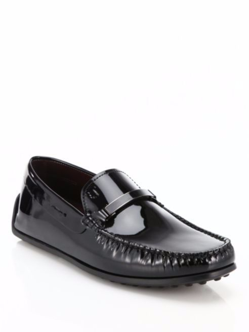 Gommino Patent Moccasins in Black Patent Leather Tod's oR7sF1F