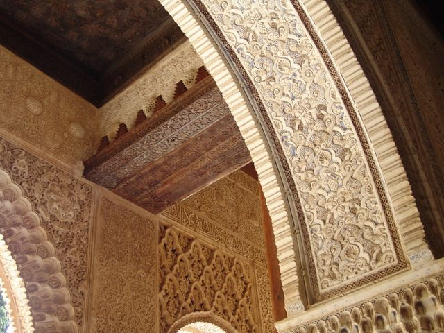 The Stunning Moorish Carvings of the Alhambra