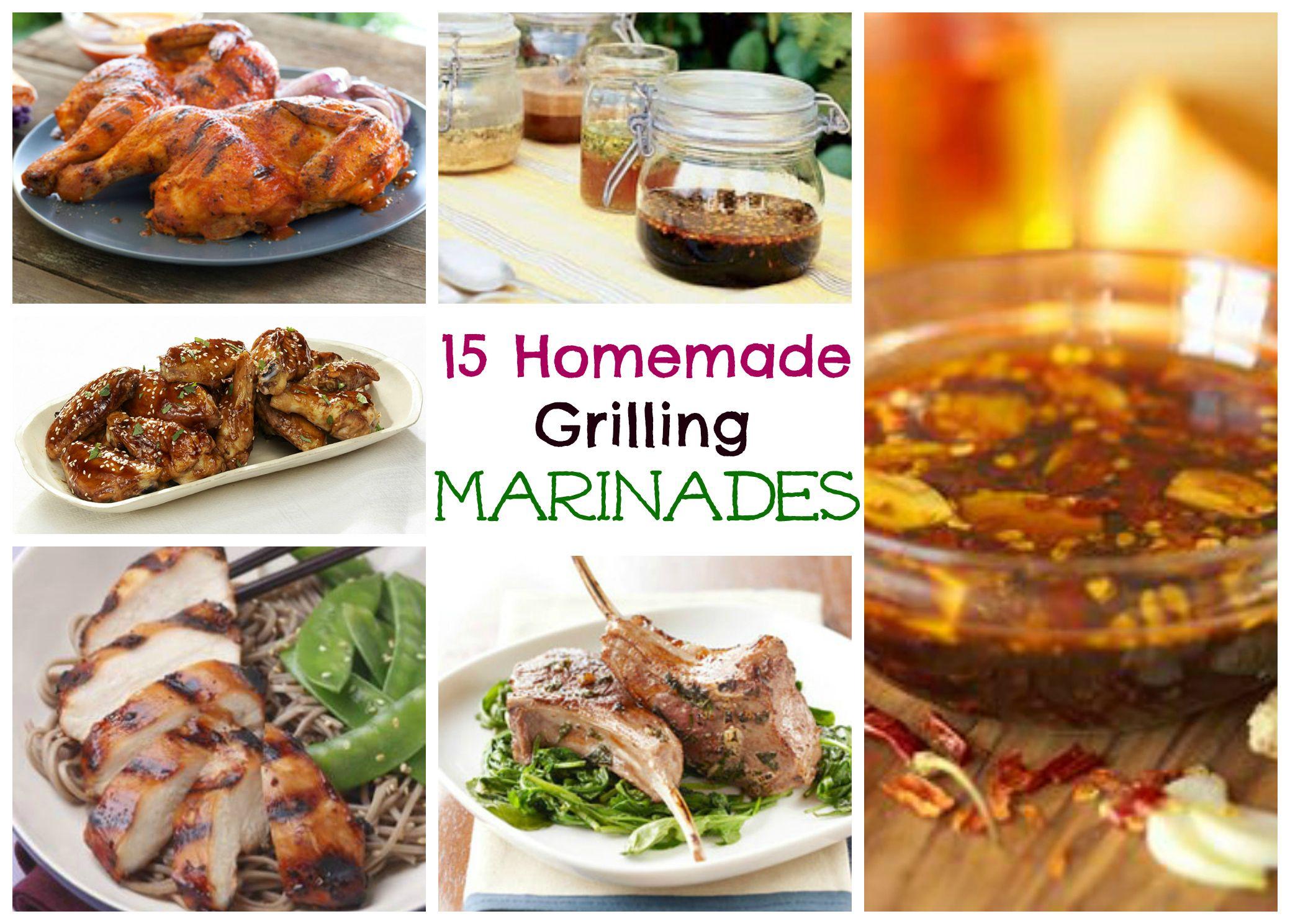 15 Homemade Meat Marinades ⋆ Homemade for Elle #meatmarinade