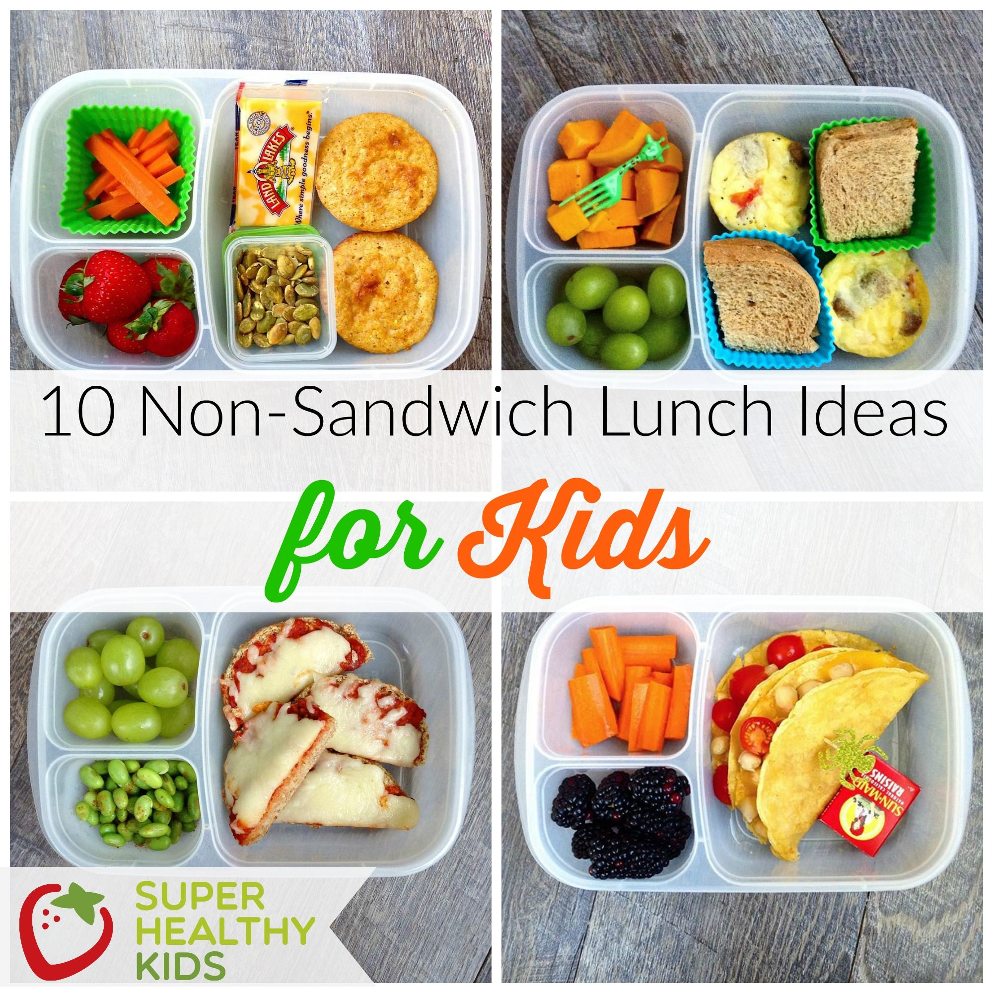 10 Non Sandwich Lunch Ideas For Kids