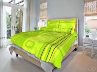Grasshopper Obliečka Bavlna  Tono zelený 140x200