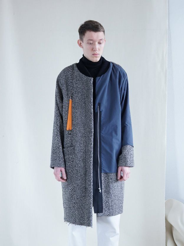 VLADIMIR KARALEEV // コート HERRING COAT – WUT