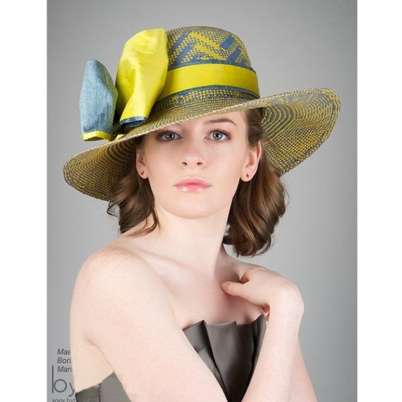 Pin By 9thandelm Com On For The Girls Couture Hats Kentucky Derby Hat Hat Fashion