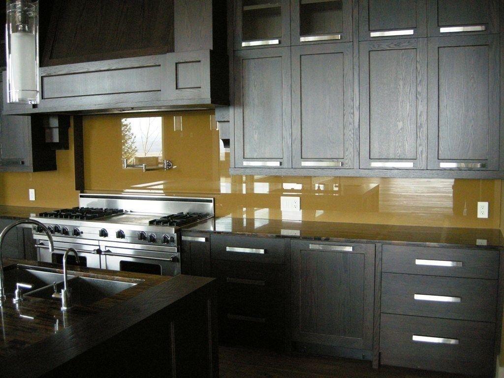 Back painted glass kitchen backsplash amazing tile modern for Back painted glass tile