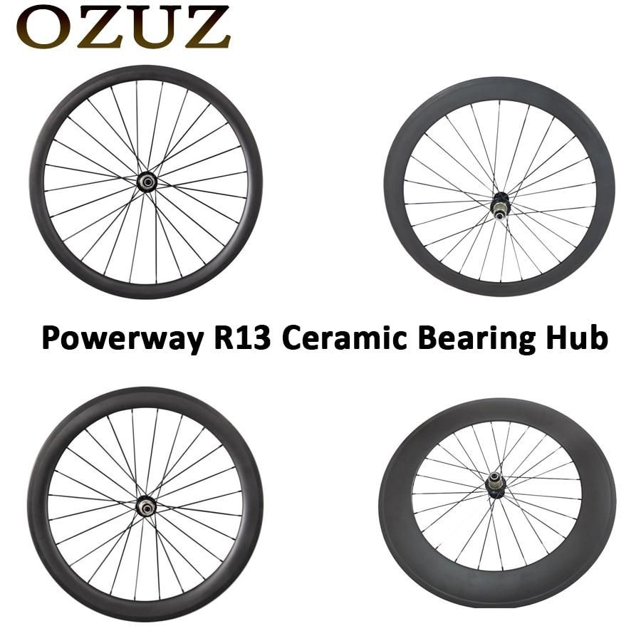 Ozuz Ceramic Bearing 24mm 38mm 50mm 88mm Only Rear Wheel Clincher