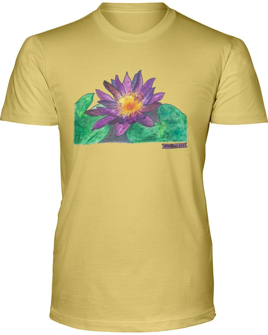 Life Path 7, Lotus, Unisex Short-Sleeved T-Shirt, Available in 12 Colors