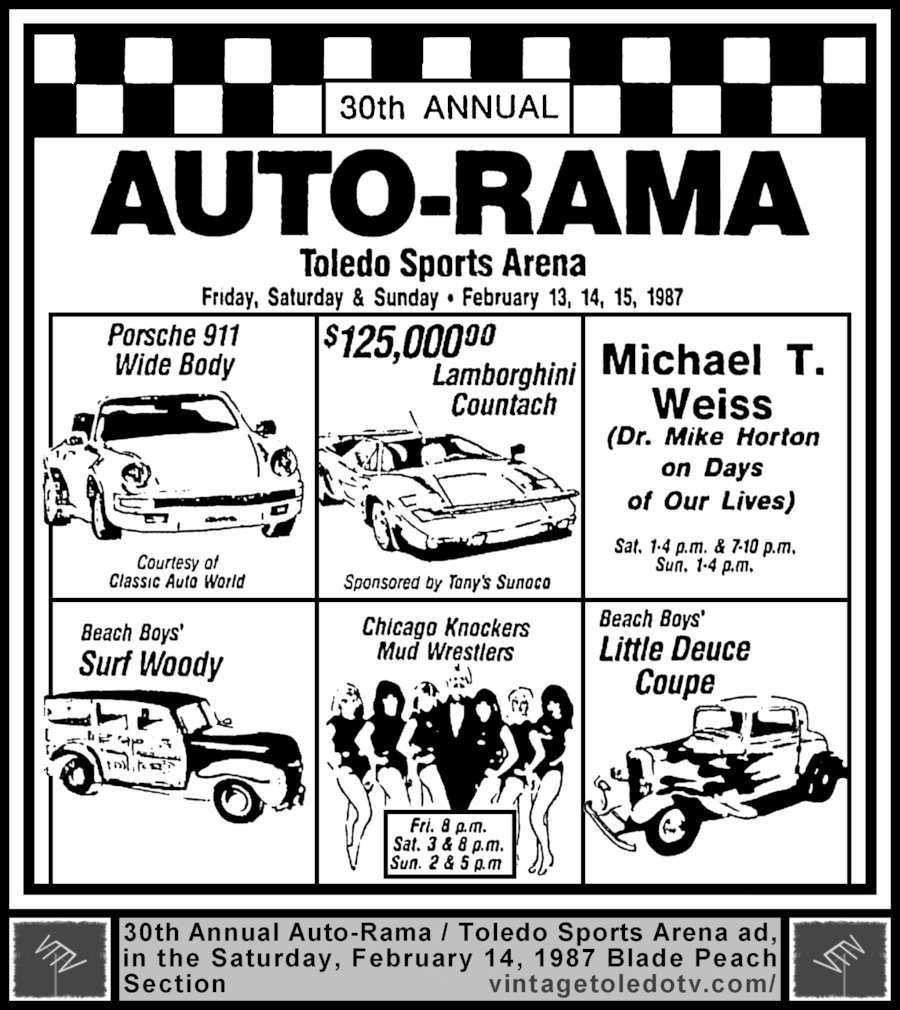 Vintage Toledo TV Other Vintage Print Ads 30th Annual
