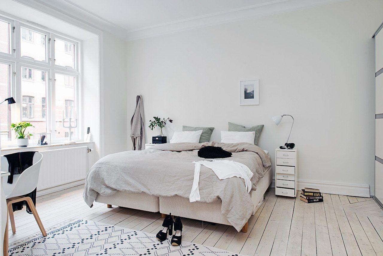 Skandinavische Schlafzimmer Ideen Ein Frischer Weisser Blick Mit Bildern Schlafzimmer Im Skandinavischen Stil Skandinavisches Schlafzimmer Skandinavisches Design