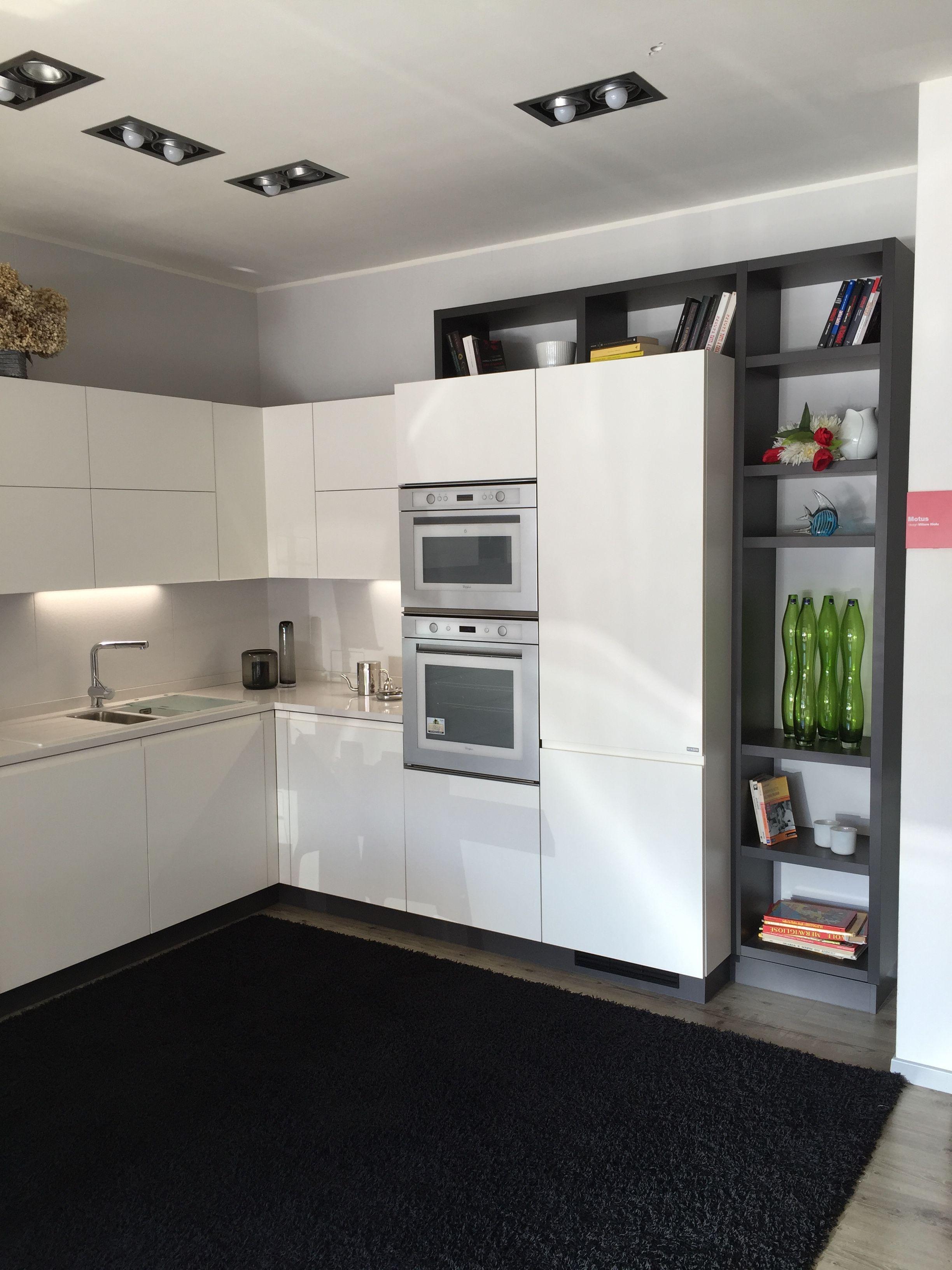 Arredamento panificio ~ Cucina #scavolini modello #motus: anta decorativo bianco puro