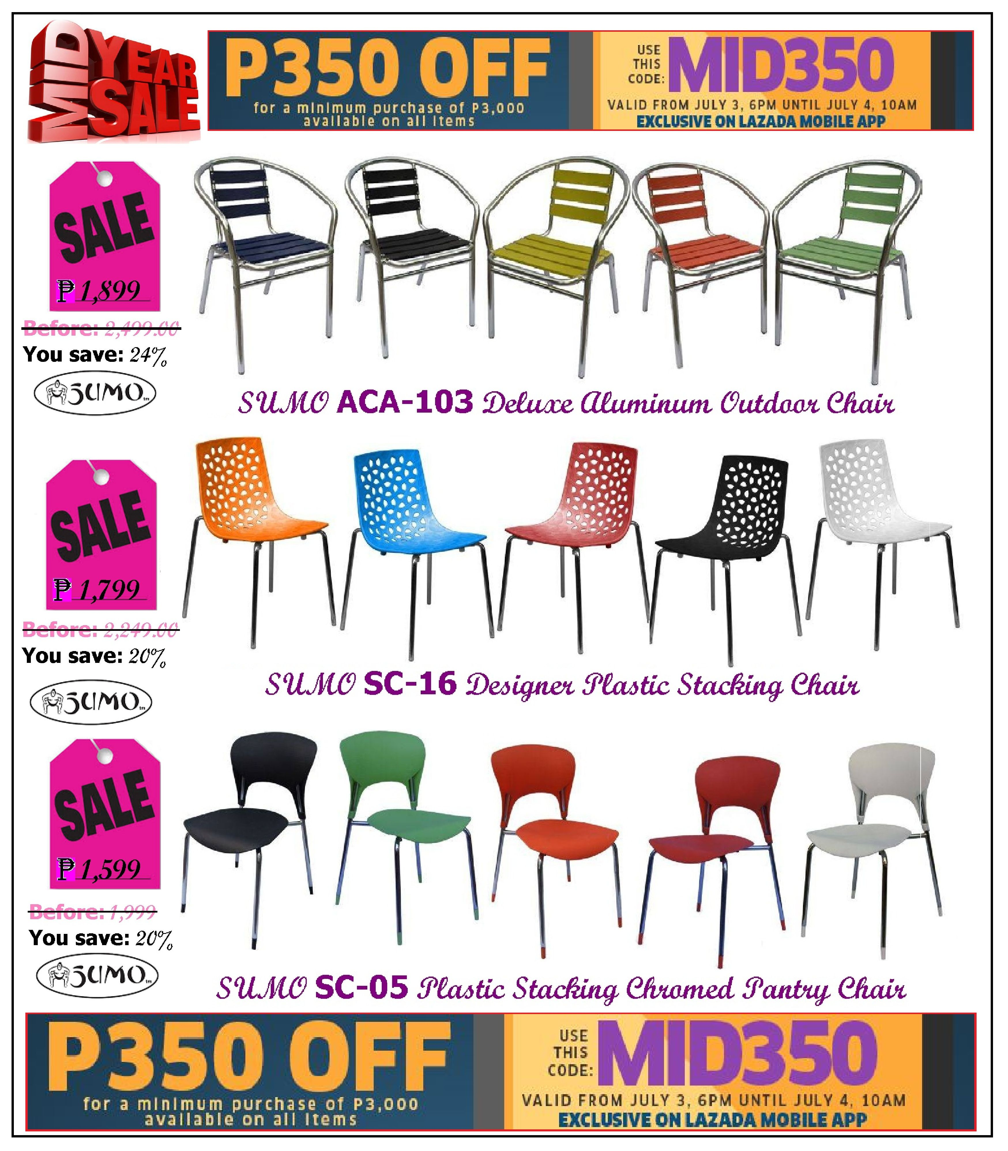 Restaurant Furniture Stacking Chairs Sale Lazada S Mid Year Promo