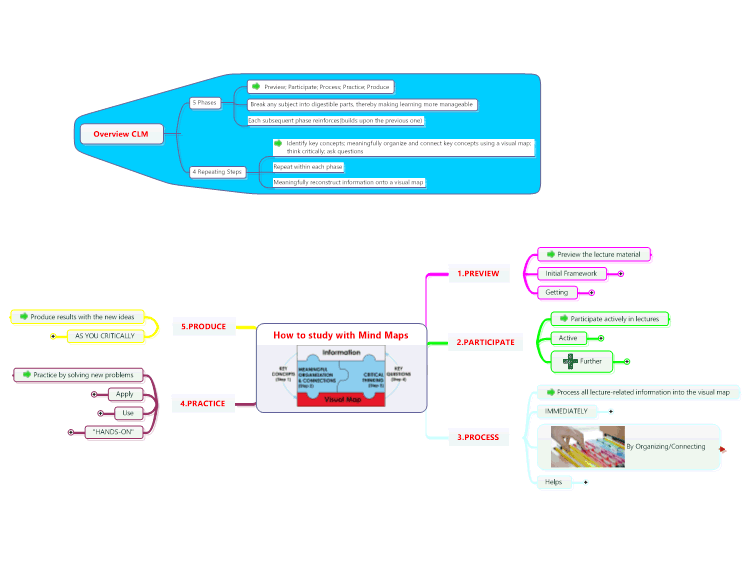 How To Study With Mind Maps Mind Mapping In Education Pinterest