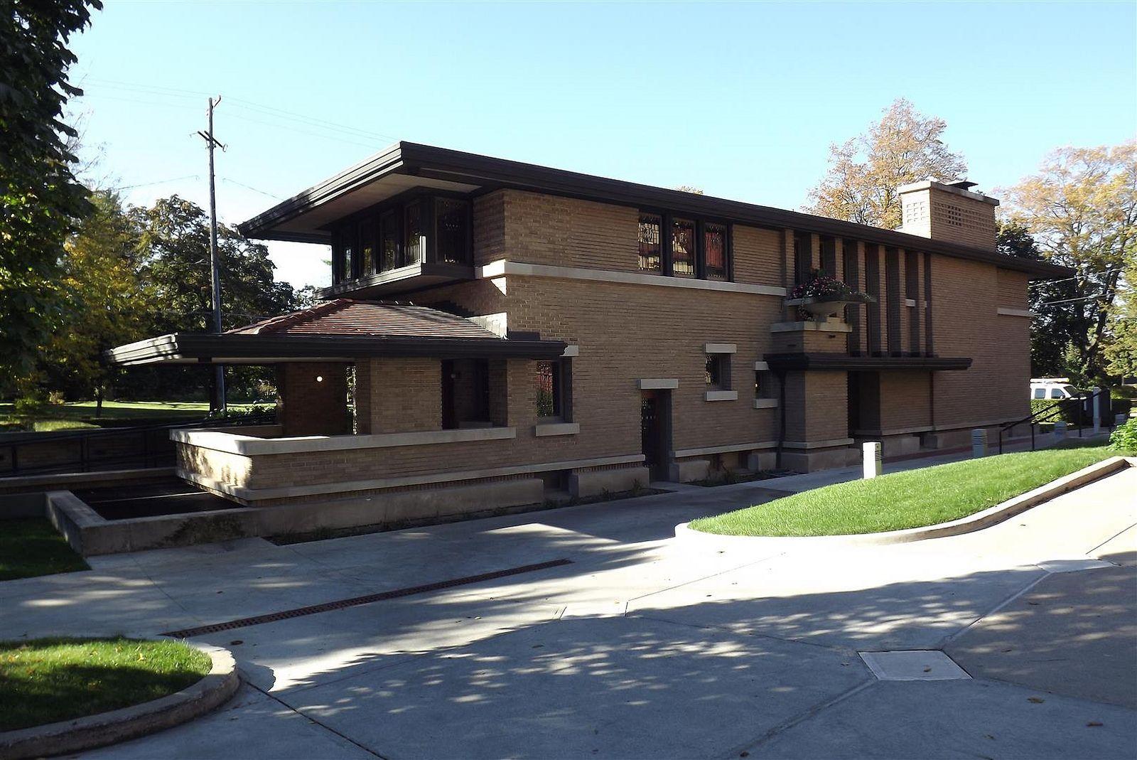 Dscf7428 Large Frank Lloyd Wright Homes Craftsman Exterior