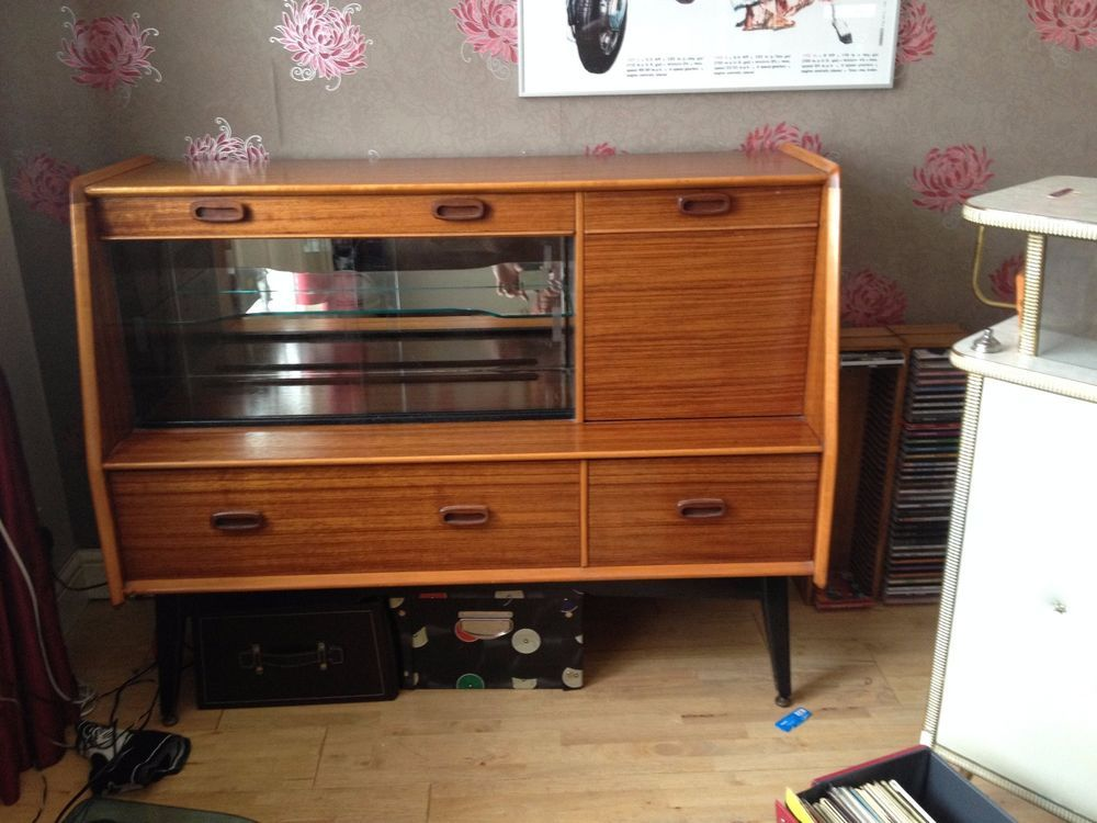 More Than High Teak Dining Room Vintage Retro Cabinets