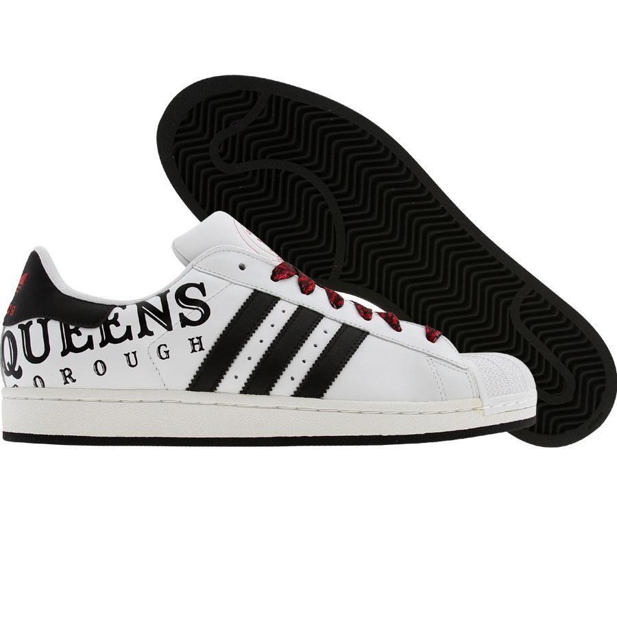 Adidas Superstar II 2 Queens Borough (Run - blanco / black1 / lgtsca