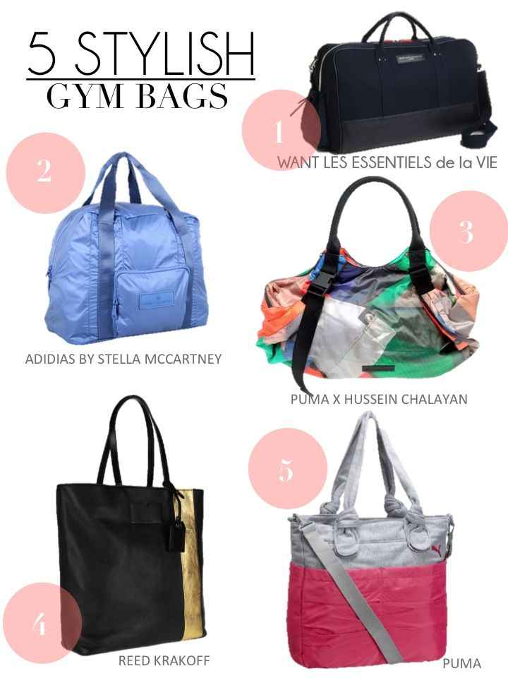 5 stylish gym bags Gym Bags 89500f3d87c0c