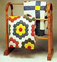 Quilt Display Rack - Instructions | Hanging Quilts & Wall Hangings ... : antique quilt rack - Adamdwight.com