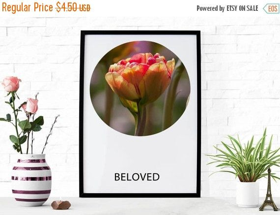 ON SALE Beloved Christian Wall Art Photography by HearMeRoarQuotes