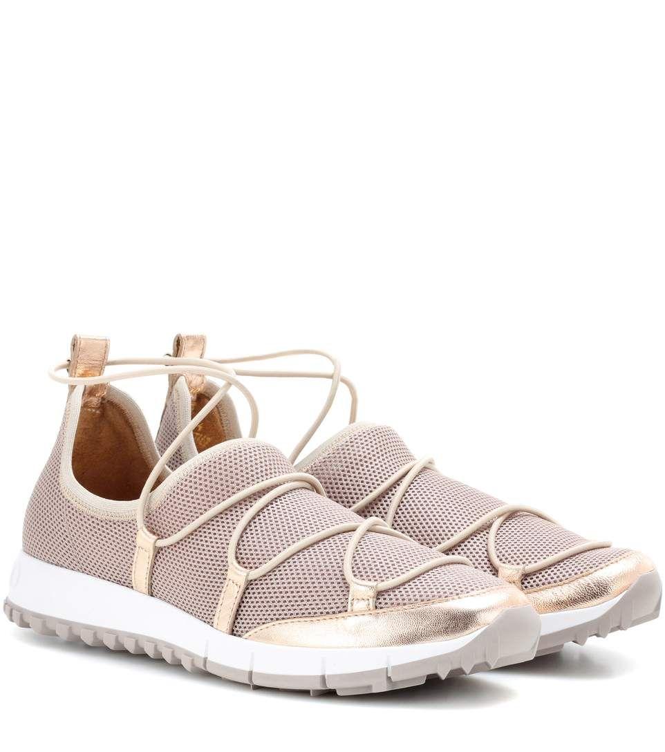JIMMY CHOO Andrea sneakers. #jimmychoo #shoes #sneakers