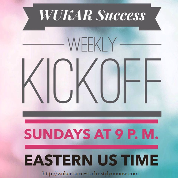 Every Sunday we share success stories.  You could be one of them.    http://wukarsuccess.tmwkrnw.com