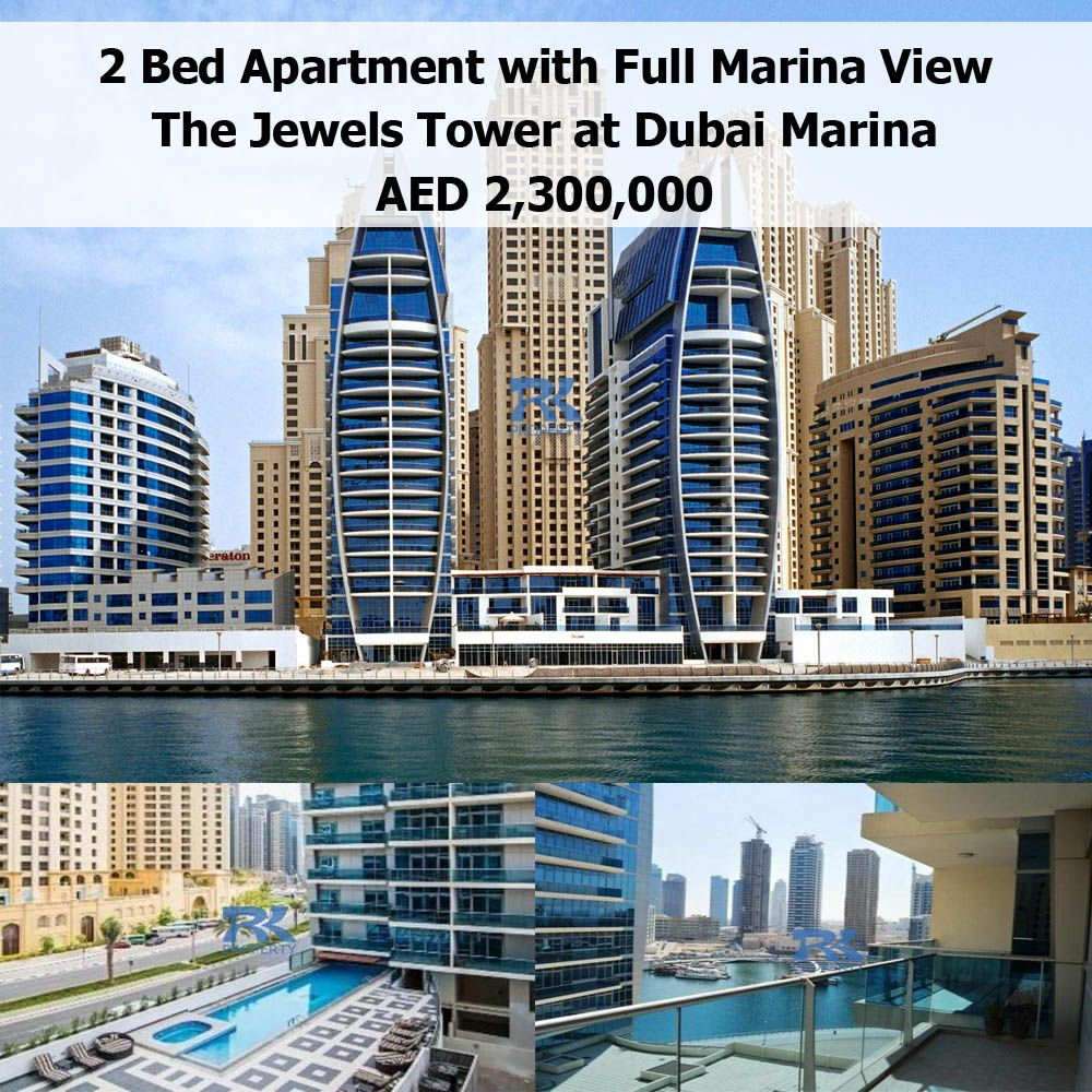 2 Bed Plus Maid's Room Apartment For Sale With Full Marina