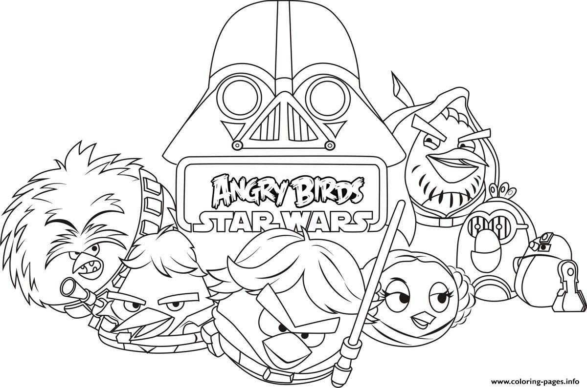Print Kids Angry Birds Star Wars Coloring Pages Star Wars Coloring Book Angry Birds Star Wars Coloring Pages [ 795 x 1200 Pixel ]