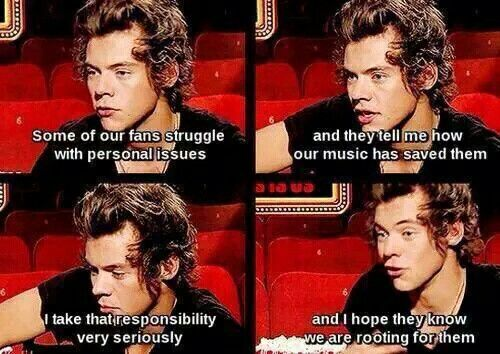 He is so caring and thoughtful