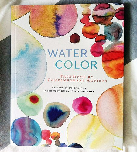 Watercolor Artists Book Cover By Samantha Hahn Contemporary