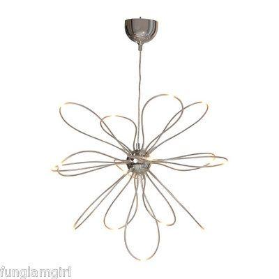 Ikea Onsjo Hanging Pendant Chandelier Lamp Led Light Bulbs New Ikea Ceiling Light Led Chandelier Chrome