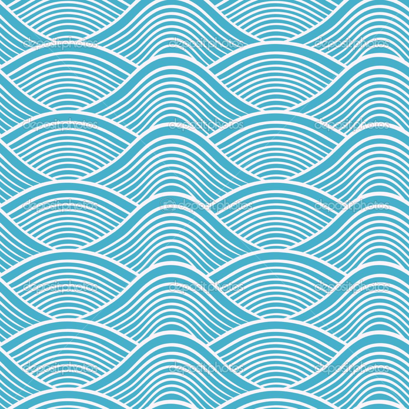 water pattern   Japanese waves, Japanese patterns, Wave ...