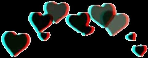 Crown Filter Hearts Freetoedit Overlays Tumblr Overlays Picsart Heart Overlay