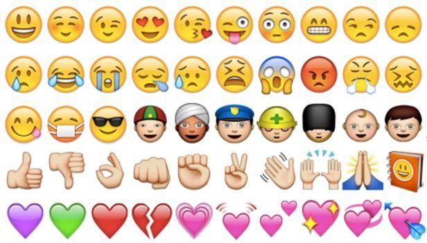 Instagram Defines Its Most Popular Emoji Which Are Taking Over Our Speech Emoticon Facebook Emoticons Emoji
