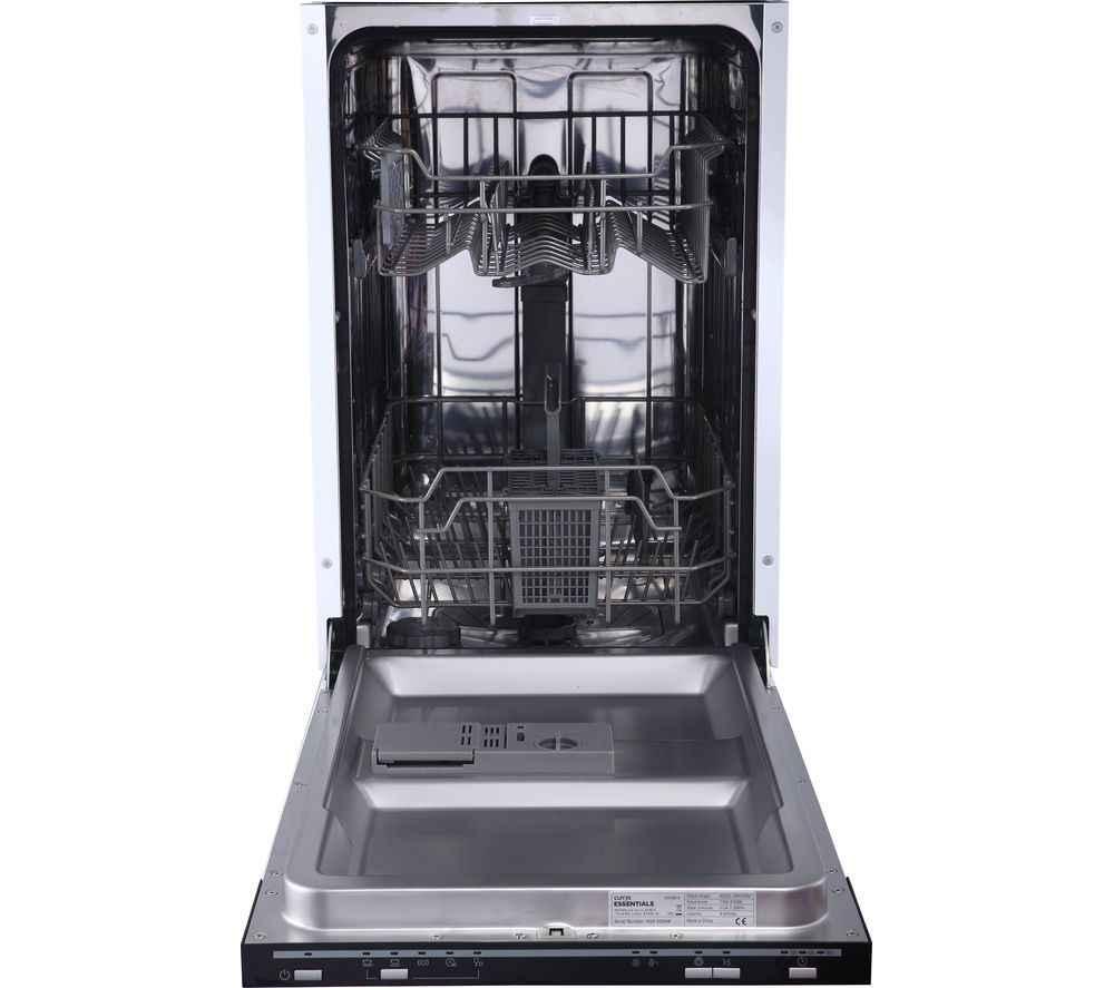 Essentials Cid45b16 Slimline Integrated Dishwasher Integrated