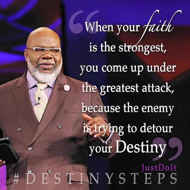 When Your Faith Is The Strongest You Come Up Under The Greatest Attack Because The Enemy Is Trying To Deto Inspirational Quotes Spiritual Quotes Faith Quotes
