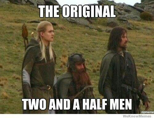 Pin By Skyrim276 On Lotr Memes Lord Of The Rings Half Man Funny Pictures