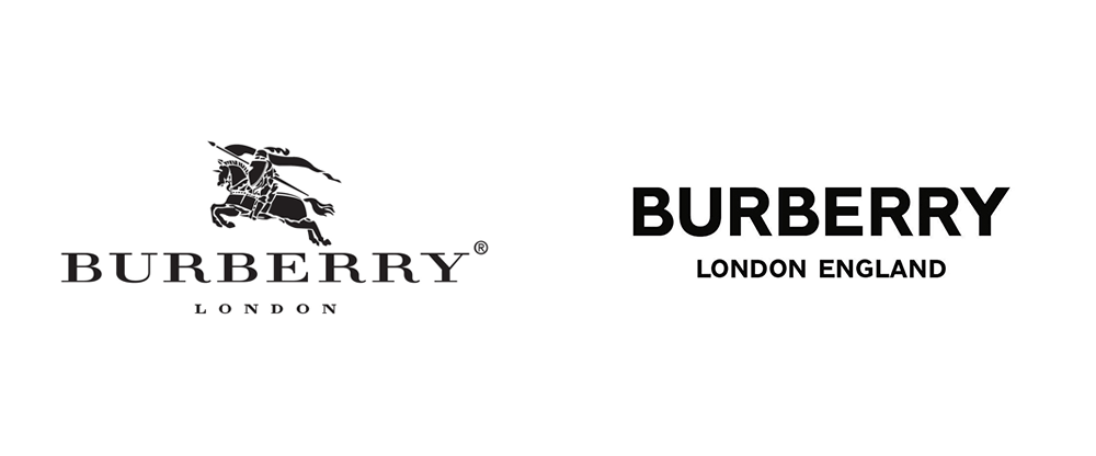Noted New Logo For Burberry By Peter Saville Logo Redesign Peter Saville Logo Design