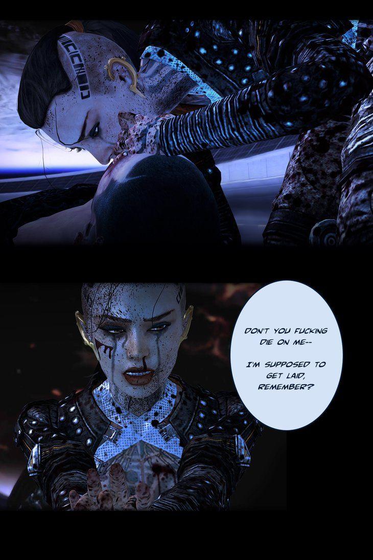 Stunning Mass Effect Jack Fan Art by Lovelymaiden