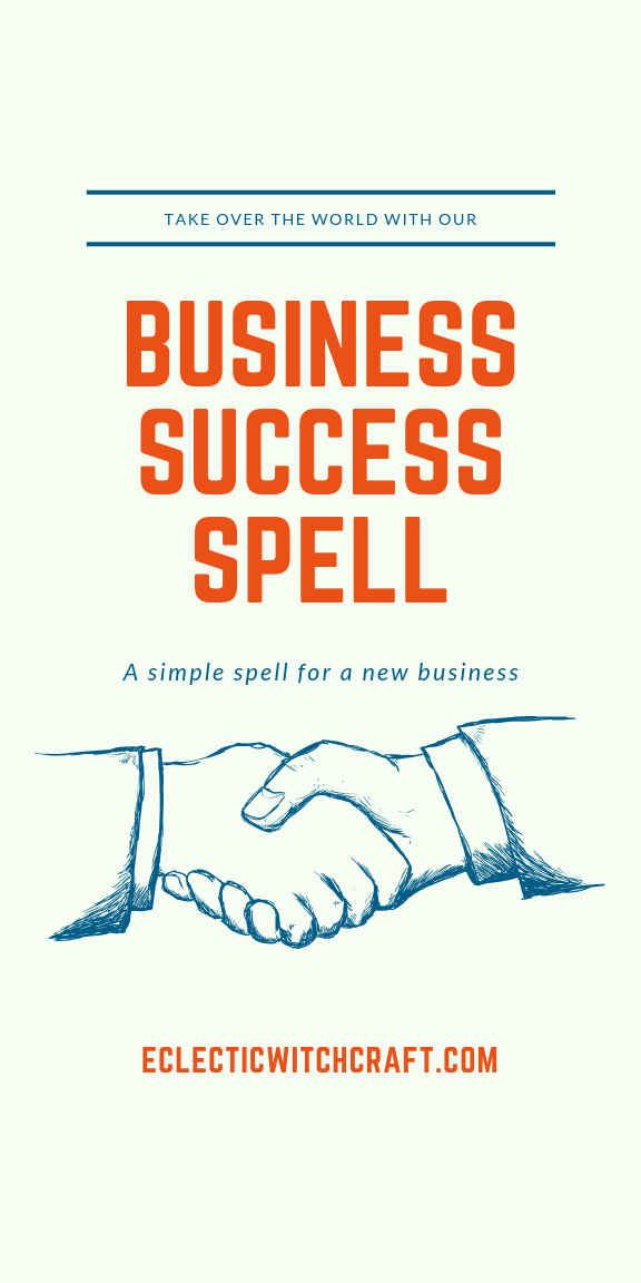 Business Spell Manifest Your Dream Business Today Success Business Spiritual Business Spelling