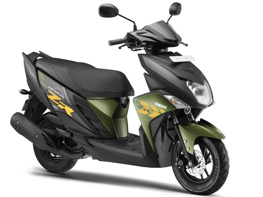 Yamaha Ray Zr Stylish 113cc Scooter Launched At Rs 52 000