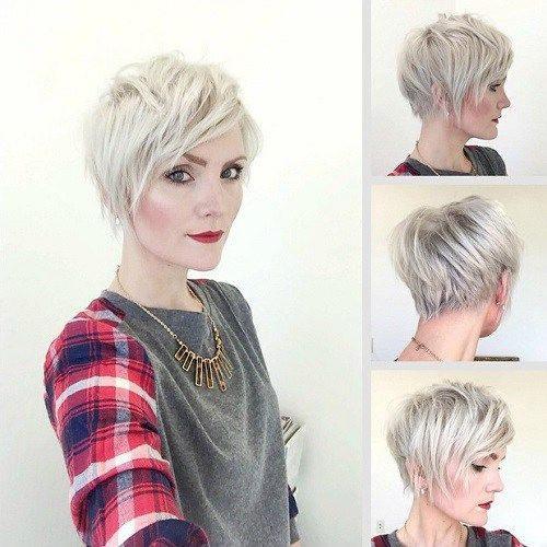 100 Mind-Blowing Short Hairstyles for Fine Hair | Long pixie, Thin ...