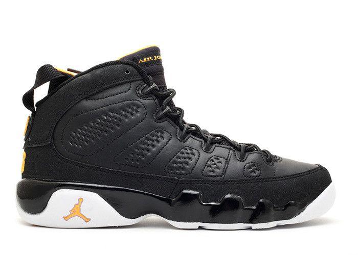 air jordan 9 retro (gs) - black citrus-white - Air Jordans  86718a96f