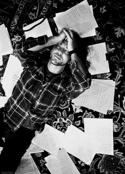 The creative process. ~Eddie Vedder