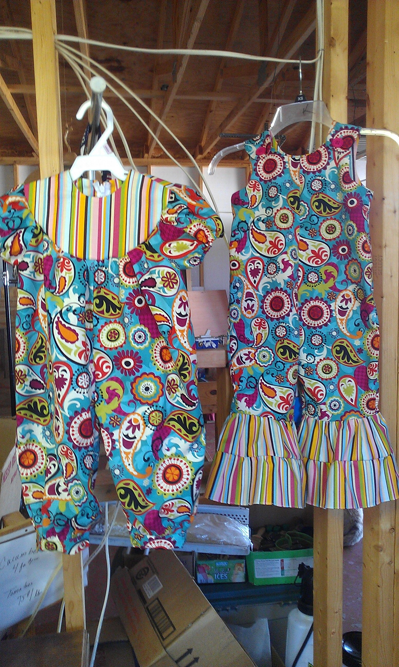 Colorful Rompers