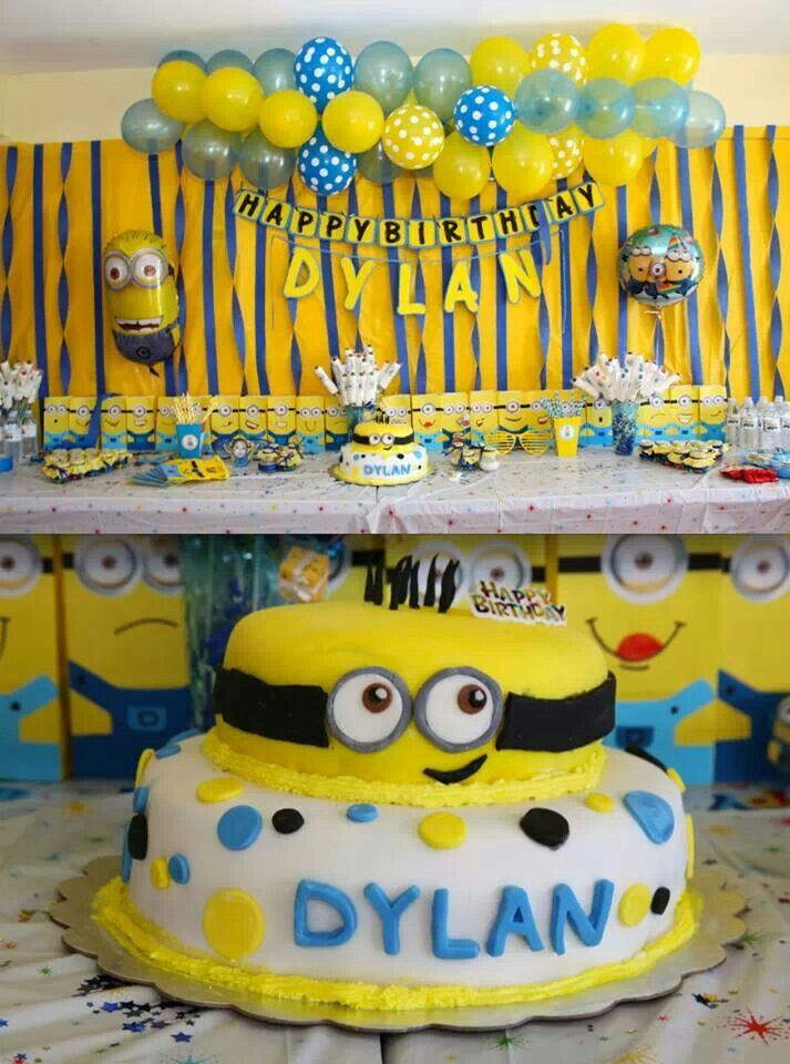 Minions Birthday Party Minions Birthday Minion Birthday Minion