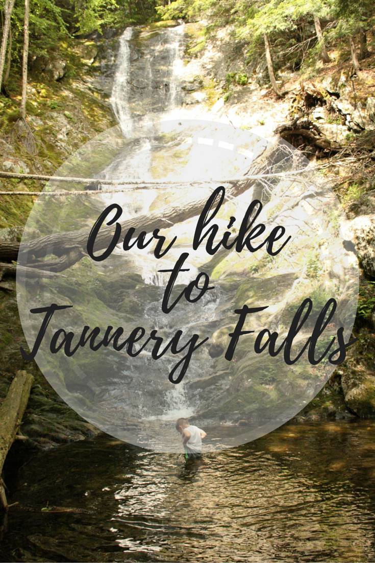 Our hike to Tannery Falls