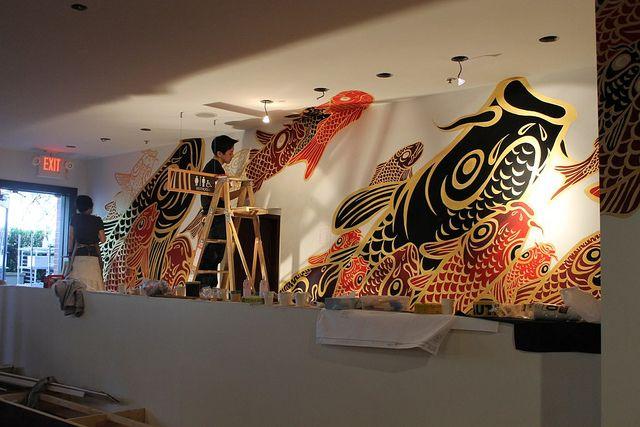 Minami Mural Large Mỹ Thuật Trang Tri Bức Tượng