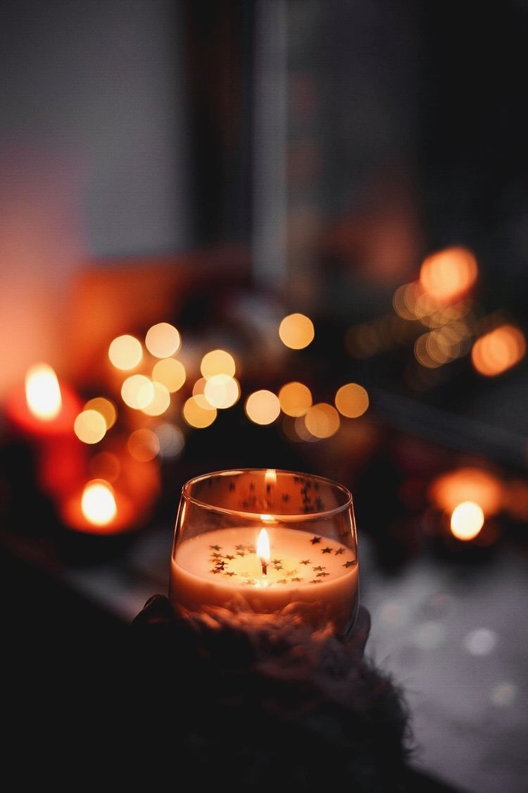 Uploaded By Momo Koko Find Images And Videos About Autumn And Candle On We Heart It The App To Ge Photography Wallpaper Candle Aesthetic Christmas Wallpaper