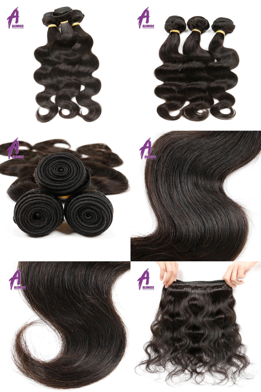 Visit To Buy Alimice Hair Peruvian Body Wave 1 Bundle 100 Human