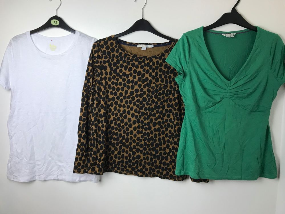 Preloved 3 Tops Boden Size Uk 12 Excellent Condition Fashion Clothing Shoes Accessories Womensclothing Tops Ebay Link Tops T Shirts Uk